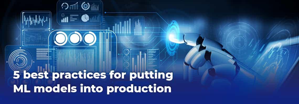 Productionizing ML models