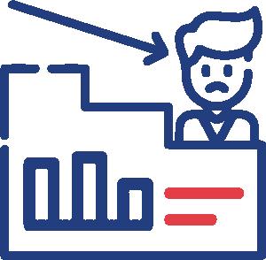 Targeting customer icon