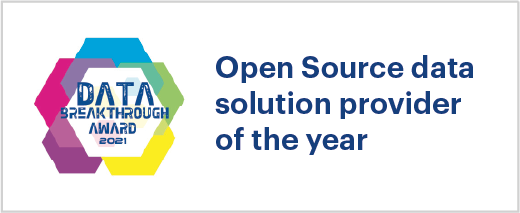 Open source data Awards and Recognition