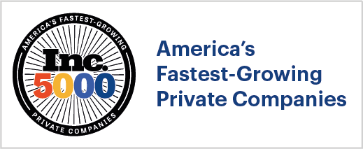 America's fastest growing private company Awards and Recognition
